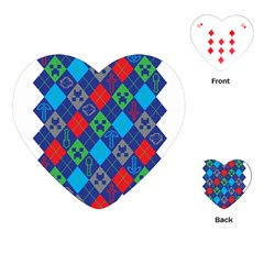 Minecraft Ugly Holiday Christmas Playing Cards (Heart)