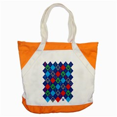 Minecraft Ugly Holiday Christmas Accent Tote Bag