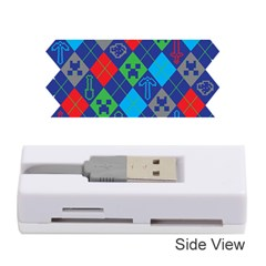 Minecraft Ugly Holiday Christmas Memory Card Reader (Stick)