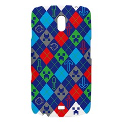 Minecraft Ugly Holiday Christmas Samsung Galaxy Nexus i9250 Hardshell Case