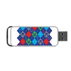 Minecraft Ugly Holiday Christmas Portable USB Flash (Two Sides)