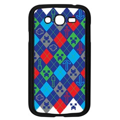 Minecraft Ugly Holiday Christmas Samsung Galaxy Grand DUOS I9082 Case (Black)