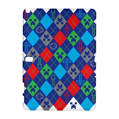 Minecraft Ugly Holiday Christmas Samsung Galaxy Note 10.1 (P600) Hardshell Case