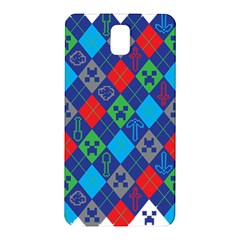 Minecraft Ugly Holiday Christmas Samsung Galaxy Note 3 N9005 Hardshell Back Case