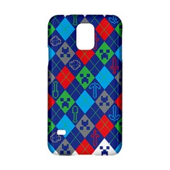 Minecraft Ugly Holiday Christmas Samsung Galaxy S5 Hardshell Case