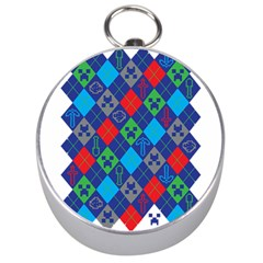 Minecraft Ugly Holiday Christmas Silver Compasses