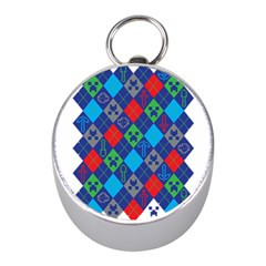 Minecraft Ugly Holiday Christmas Mini Silver Compasses