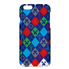 Minecraft Ugly Holiday Christmas Apple Iphone 6 Plus/6s Plus Hardshell Case