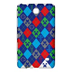 Minecraft Ugly Holiday Christmas Samsung Galaxy Tab 4 (7 ) Hardshell Case