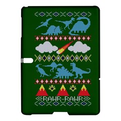 My Grandma Likes Dinosaurs Ugly Holiday Christmas Green Background Samsung Galaxy Tab S (10.5 ) Hardshell Case