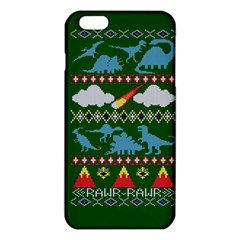 My Grandma Likes Dinosaurs Ugly Holiday Christmas Green Background iPhone 6 Plus/6S Plus TPU Case