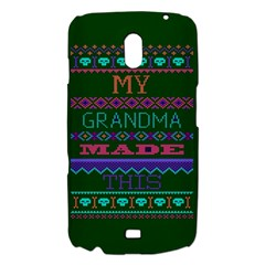 My Grandma Made This Ugly Holiday Green Background Samsung Galaxy Nexus i9250 Hardshell Case