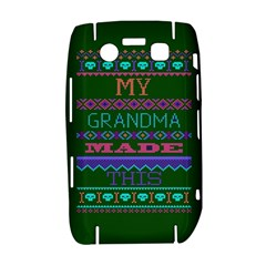 My Grandma Made This Ugly Holiday Green Background Bold 9700