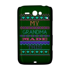 My Grandma Made This Ugly Holiday Green Background HTC ChaCha / HTC Status Hardshell Case