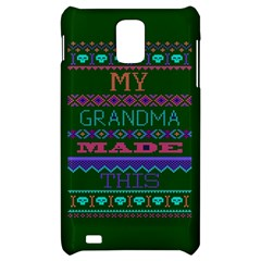 My Grandma Made This Ugly Holiday Green Background Samsung Infuse 4G Hardshell Case