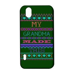 My Grandma Made This Ugly Holiday Green Background LG Optimus P970