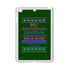 My Grandma Made This Ugly Holiday Green Background iPad Mini 2 Enamel Coated Cases