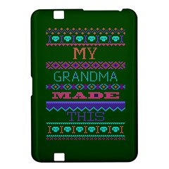 My Grandma Made This Ugly Holiday Green Background Kindle Fire HD 8.9