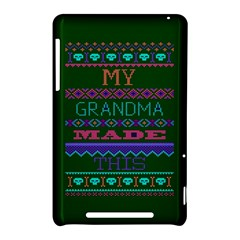 My Grandma Made This Ugly Holiday Green Background Nexus 7 (2012)