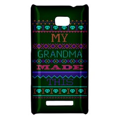 My Grandma Made This Ugly Holiday Green Background HTC 8X