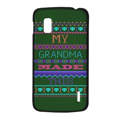 My Grandma Made This Ugly Holiday Green Background LG Nexus 4
