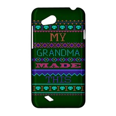 My Grandma Made This Ugly Holiday Green Background HTC Desire VC (T328D) Hardshell Case