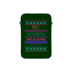 My Grandma Made This Ugly Holiday Green Background Apple iPad Mini Protective Soft Cases