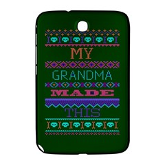 My Grandma Made This Ugly Holiday Green Background Samsung Galaxy Note 8.0 N5100 Hardshell Case