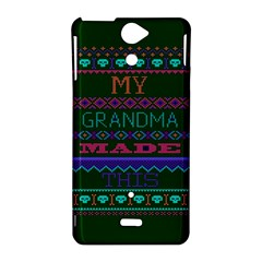 My Grandma Made This Ugly Holiday Green Background Sony Xperia V