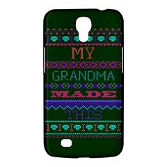 My Grandma Made This Ugly Holiday Green Background Samsung Galaxy Mega 6.3  I9200 Hardshell Case