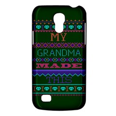 My Grandma Made This Ugly Holiday Green Background Galaxy S4 Mini