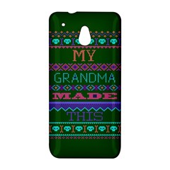 My Grandma Made This Ugly Holiday Green Background HTC One Mini (601e) M4 Hardshell Case