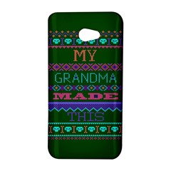My Grandma Made This Ugly Holiday Green Background HTC Butterfly S/HTC 9060 Hardshell Case