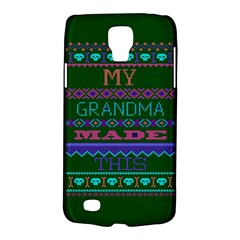 My Grandma Made This Ugly Holiday Green Background Galaxy S4 Active