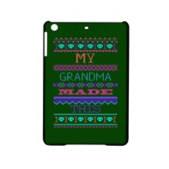 My Grandma Made This Ugly Holiday Green Background iPad Mini 2 Hardshell Cases
