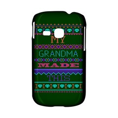 My Grandma Made This Ugly Holiday Green Background Samsung Galaxy S6310 Hardshell Case