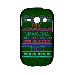 My Grandma Made This Ugly Holiday Green Background Samsung Galaxy S6810 Hardshell Case
