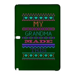 My Grandma Made This Ugly Holiday Green Background Samsung Galaxy Tab Pro 10.1 Hardshell Case