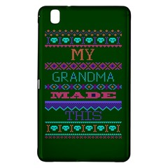 My Grandma Made This Ugly Holiday Green Background Samsung Galaxy Tab Pro 8.4 Hardshell Case