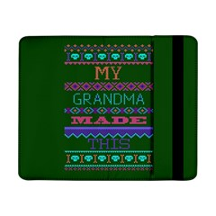 My Grandma Made This Ugly Holiday Green Background Samsung Galaxy Tab Pro 8.4  Flip Case