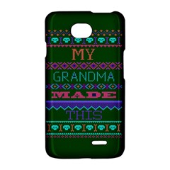 My Grandma Made This Ugly Holiday Green Background LG Optimus L70