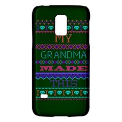 My Grandma Made This Ugly Holiday Green Background Galaxy S5 Mini