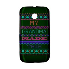 My Grandma Made This Ugly Holiday Green Background Motorola Moto E