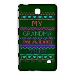 My Grandma Made This Ugly Holiday Green Background Samsung Galaxy Tab 4 (8 ) Hardshell Case