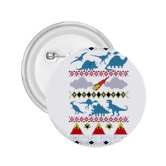 My Grandma Likes Dinosaurs Ugly Holiday Christmas 2.25  Buttons