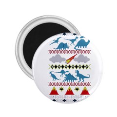 My Grandma Likes Dinosaurs Ugly Holiday Christmas 2.25  Magnets