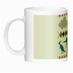 My Grandma Likes Dinosaurs Ugly Holiday Christmas Night Luminous Mugs