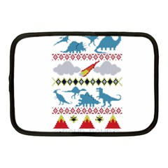 My Grandma Likes Dinosaurs Ugly Holiday Christmas Netbook Case (Medium)