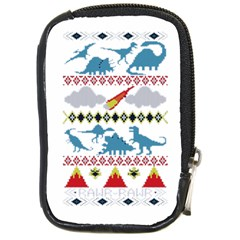 My Grandma Likes Dinosaurs Ugly Holiday Christmas Compact Camera Cases