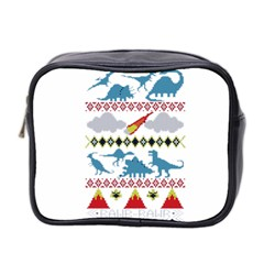 My Grandma Likes Dinosaurs Ugly Holiday Christmas Mini Toiletries Bag 2-Side